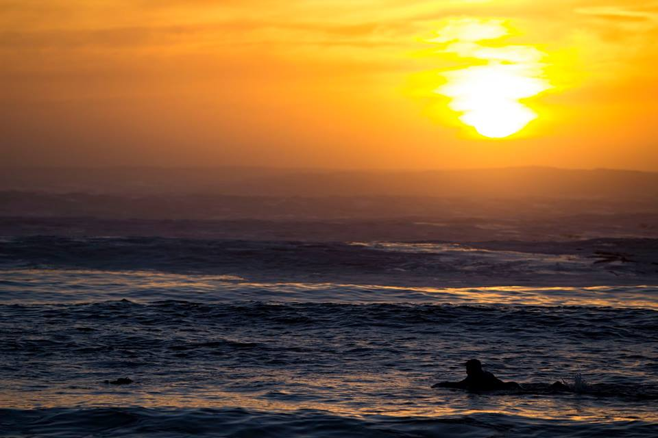 Surfs Up Spring Tide Cape Town sunset