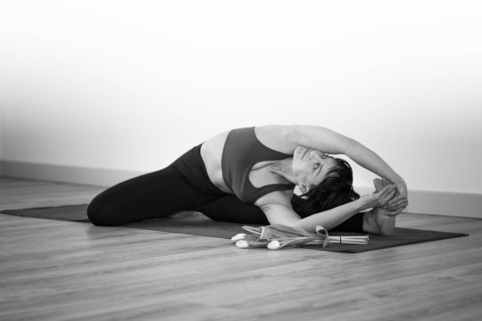 Mysore Yoga Shoot by Tarryn Hardwicke