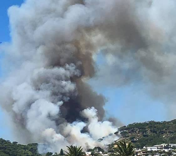 Cape Town Fire - Snapped by Tarryn Hardwicke